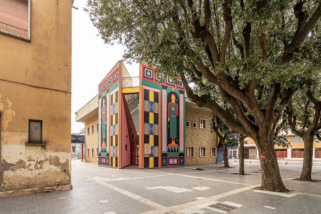 Agostino Iacurci, L'antiporta, 2021, Credits: #Fotoarchitetto | Rigymnasium