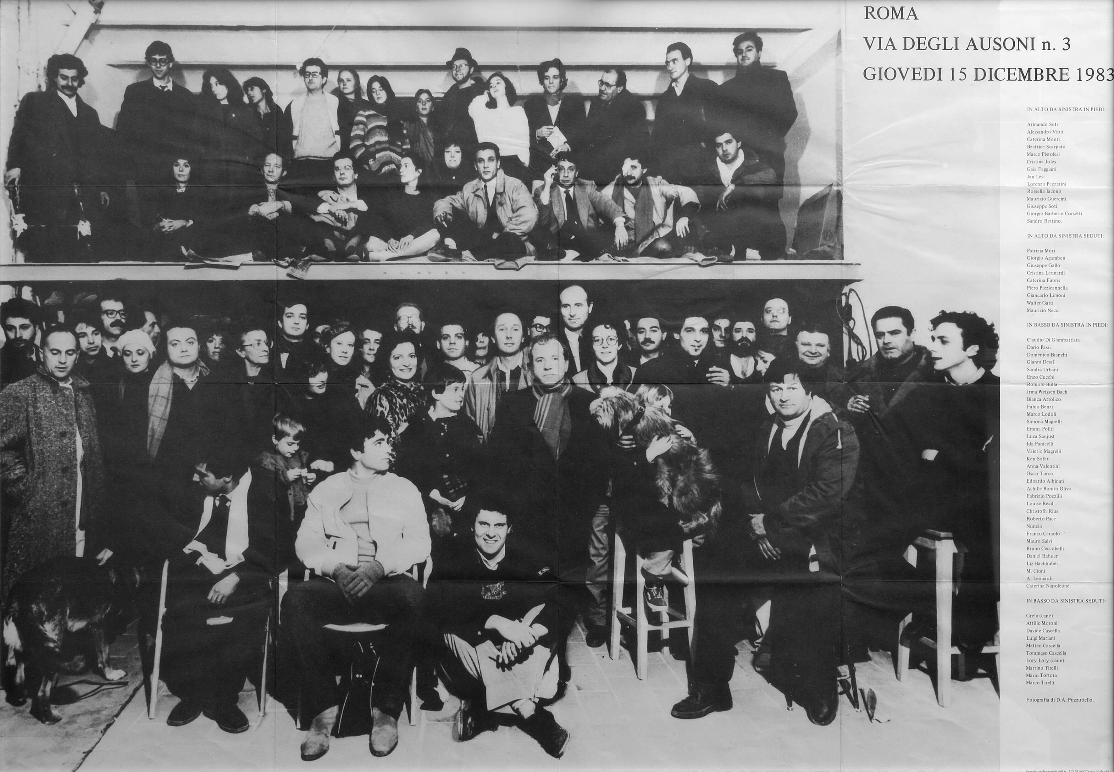 San Lorenzo 15 Dicembre 1983